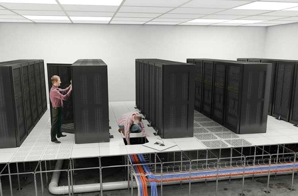 Thi công hệ thống Server - An Ninh Viet