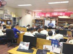 Trainning sản phẩm thảm SMJ cùng Mr Lincoln Lim - Singapore