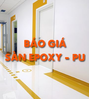 Sàn Epoxy - PU - Báo giá sơn sàn Epoxy - PU