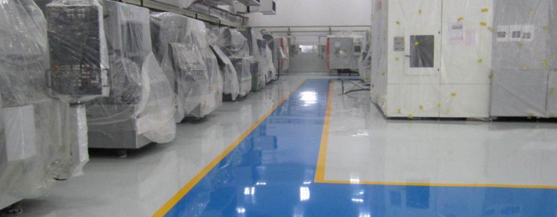 Ứng dụng thực tế của sàn epoxy