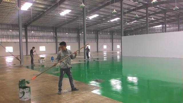Những điều cần biết về sơn epoxy trước lúc thi công
