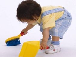 Kinh nghiệm dùng thảm trải sàn khi nhà có em bé