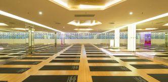 Thi công sàn PVC cho phòng Yoga