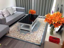 Hướng dẫn chọn thảm trải sàn thẩm mỹ cho phòng khách