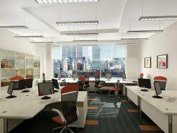 Thi công thảm trải sàn cho văn phòng hiện đại chuẩn công sở