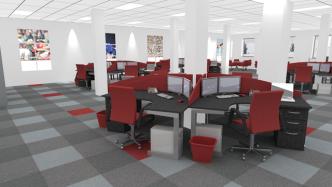 Bí quyết lựa chọn thảm trải sàn văn phòng có màu sắc phù hợp