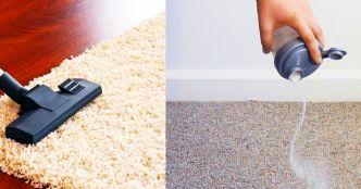 Mẹo hay khử mùi thảm trải sàn vào mùa đông