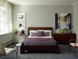 Thảm trải sàn mềm mại, êm chân cho phòng ngủ thêm ấm cúng
