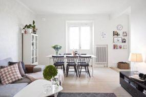 Tường nhà màu trắng nên chọn thảm trải sàn màu gì?