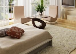 Chọn thảm trải sàn phòng ngủ cho người mệnh kim cần lưu ý điều gì?