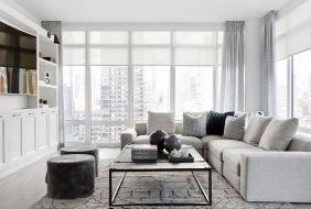 Sử dụng thảm trải sàn để không gian nhà ấm cúng, thoải mái